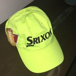 Tour yellow Srixon Golf Z Star neon baseball cap